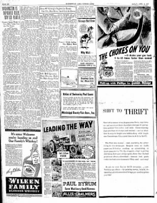 The Courier News from Blytheville, Arkansas on April 9, 1937 · Page 6