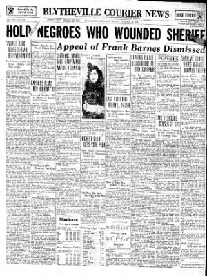 The Courier News from Blytheville, Arkansas on January 14, 1935 · Page 1