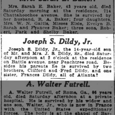 Joseph S. Dildy, Jr.