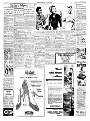 The Courier News from Blytheville, Arkansas on November 2, 1954 · Page 4