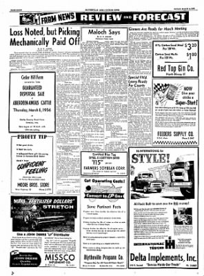 The Courier News from Blytheville, Arkansas on March 2, 1956 · Page 8