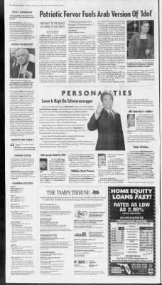 The Tampa Tribune from Tampa, Florida on August 19, 2003 · 2