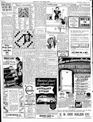 The Courier News from Blytheville, Arkansas on April 14, 1937 · Page 6