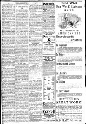 Logansport Pharos-Tribune from Logansport, Indiana on February 27, 1891 · Page 2