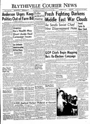 The Courier News from Blytheville, Arkansas on March 5, 1956 · Page 1