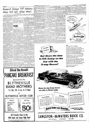 The Courier News from Blytheville, Arkansas on November 3, 1954 · Page 10