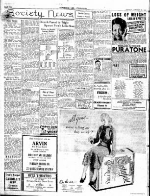 The Courier News from Blytheville, Arkansas on January 21, 1935 · Page 4