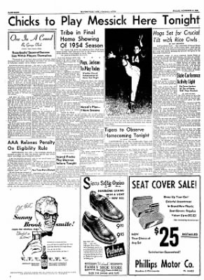 The Courier News from Blytheville, Arkansas on November 5, 1954 · Page 8