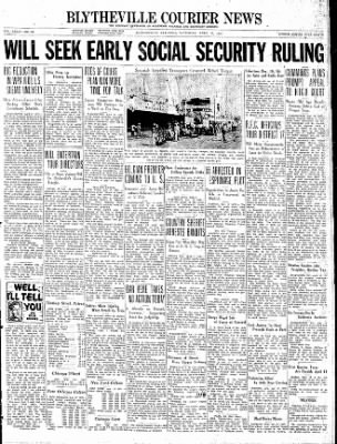 The Courier News from Blytheville, Arkansas on April 17, 1937 · Page 1