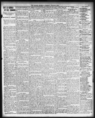 Doubt Greets Reports Of Suramins >> Racine Journal From Racine Wisconsin On August 9 1910 7
