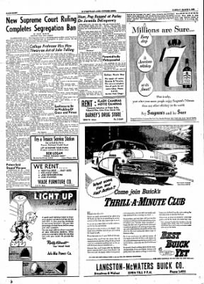 The Courier News from Blytheville, Arkansas on March 6, 1956 · Page 8