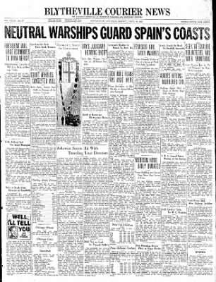 The Courier News from Blytheville, Arkansas on April 19, 1937 · Page 1