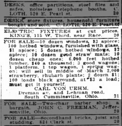 The Cincinnati Enquirer from Cincinnati, Ohio on February 20, 1920 on