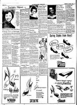 The Courier News from Blytheville, Arkansas on March 8, 1956 · Page 4