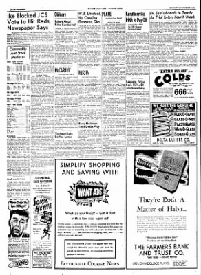 The Courier News from Blytheville, Arkansas on November 8, 1954 · Page 14