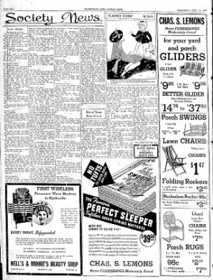 The Courier News from Blytheville, Arkansas on April 21, 1937 · Page 2