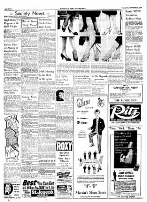 The Courier News from Blytheville, Arkansas on November 9, 1954 · Page 4
