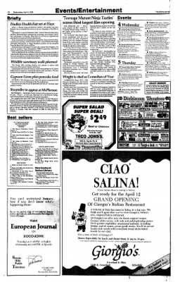 The Salina Journal from Salina, Kansas on April 4, 1990 · Page 24