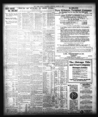 the inter ocean from chicago, illinois on march 9, 1911 · page 8