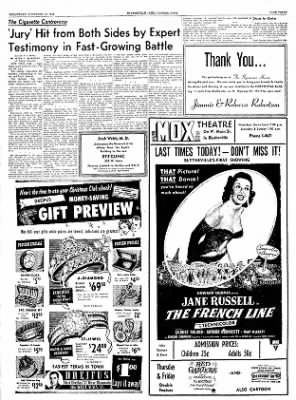 The Courier News from Blytheville, Arkansas on November 10, 1954 · Page 3
