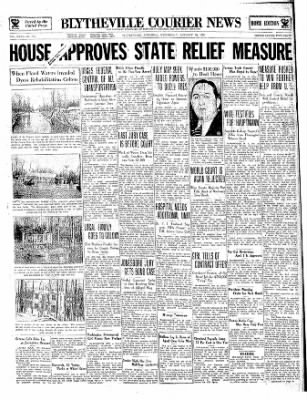 The Courier News from Blytheville, Arkansas on January 30, 1935 · Page 1
