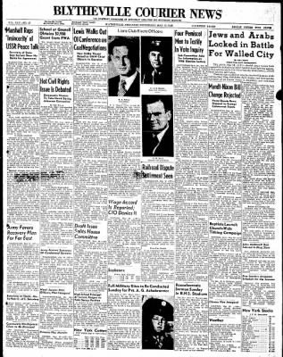 The Courier News from Blytheville, Arkansas on May 19, 1948 · Page 1