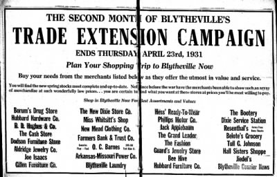 The Courier News from Blytheville, Arkansas on April 15, 1931 · Page 9