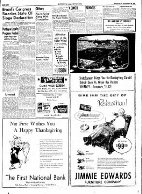 The Courier News from Blytheville, Arkansas on November 23, 1955 · Page 2