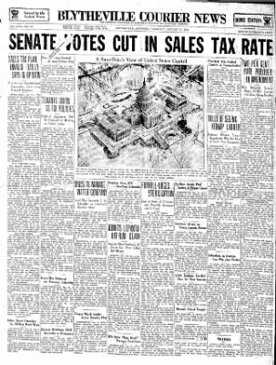 The Courier News from Blytheville, Arkansas on January 31, 1935 · Page 1