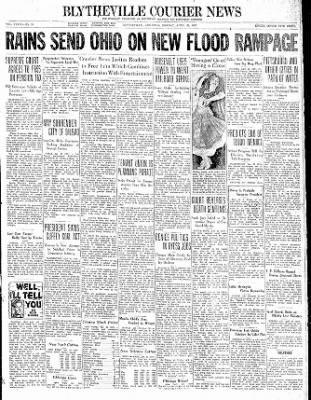 The Courier News from Blytheville, Arkansas on April 26, 1937 · Page 1