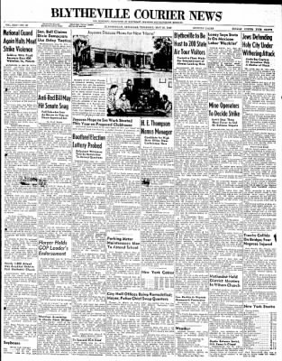 The Courier News from Blytheville, Arkansas on May 20, 1948 · Page 1