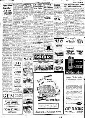 The Courier News from Blytheville, Arkansas on April 25, 1953 · Page 6