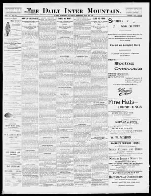 The Butte Daily Post from Butte ff87633b44a
