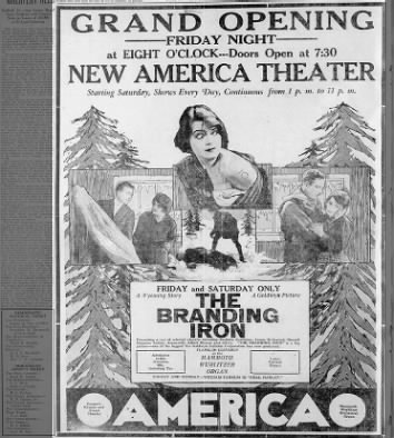 American theatre opening