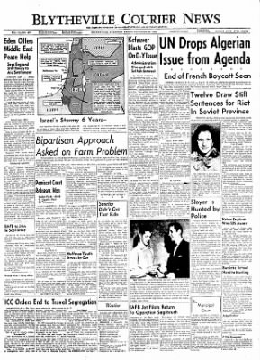 The Courier News from Blytheville, Arkansas on November 25, 1955 · Page 1