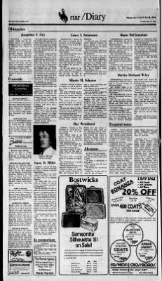 Casper Star-Tribune from Casper, Wyoming on November 10, 1983 · 14