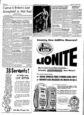 The Courier News from Blytheville, Arkansas on March 13, 1956 · Page 8