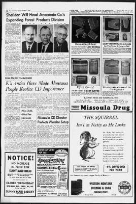 The Missoulian from Missoula, Montana on October 1, 1961 · 22