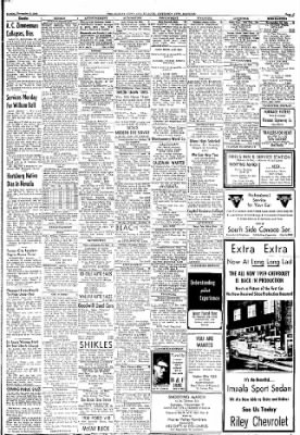 The Sunday News And Tribune From Jefferson City, Missouri On November 9,  1958 · Page 17