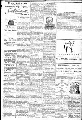 Logansport Pharos-Tribune from Logansport, Indiana on February 28, 1891 · Page 5