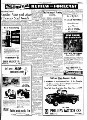The Courier News from Blytheville, Arkansas on November 25, 1955 · Page 15