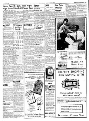 The Courier News from Blytheville, Arkansas on November 16, 1954 · Page 12