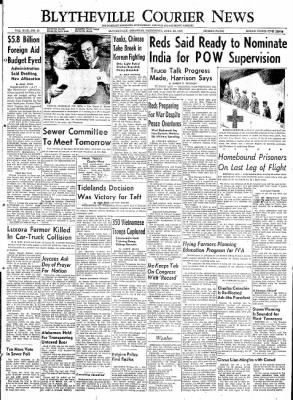 The Courier News from Blytheville, Arkansas on April 29, 1953 · Page 1