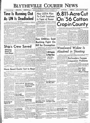 The Courier News from Blytheville, Arkansas on November 26, 1955 · Page 1