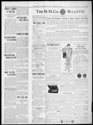 the missoulian from missoula montana on september 22 1911 5 missoulian newspapers com