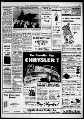 the missoulian from missoula montana on october 23 1941 5 missoulian newspapers com