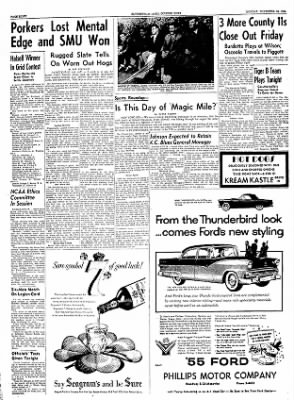 The Courier News from Blytheville, Arkansas on November 15, 1954 · Page 8