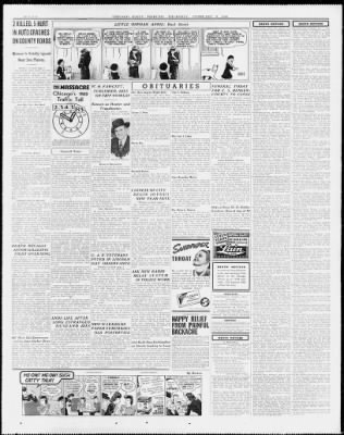 Chicago Tribune From Chicago Illinois On February 8 1940 26