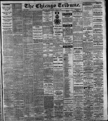 Chicago Tribune from Chicago, Illinois on June 10, 1868 · 1