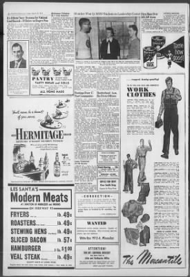 The Missoulian from Missoula, Montana on March 19, 1954 · 6